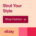 Herenjassen, eBay Fashion Banner